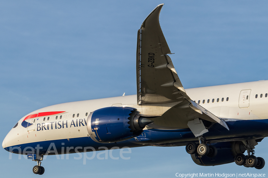 British Airways Boeing 787-9 Dreamliner (G-ZBKD) | Photo 131287