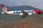 Edelweiss Air Airbus A320-214 (HB-IHY) at  Gran Canaria, Spain