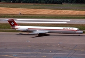 Balair McDonnell Douglas MD-82 (HB-INR) at  Zurich - Kloten, Switzerland