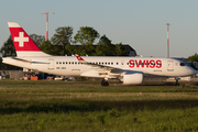 Swiss International Airlines Airbus A220-100 (HB-JBG) at  Hannover - Langenhagen, Germany