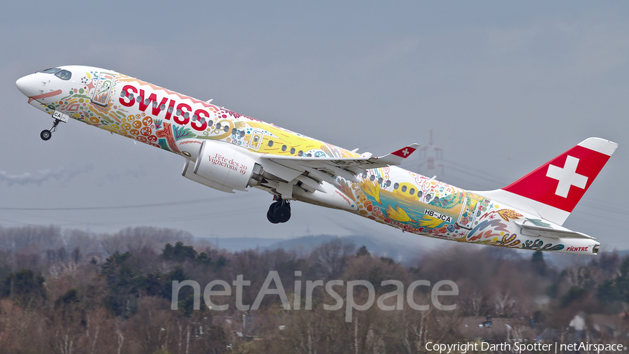 Swiss International Airlines Airbus A220-300 (HB-JCA) | Photo 358432