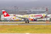Swiss International Airlines Airbus A220-300 (HB-JCA) at  Malaga, Spain