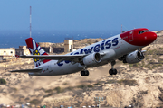 Edelweiss Air Airbus A320-214 (HB-JJM) at  Gran Canaria, Spain