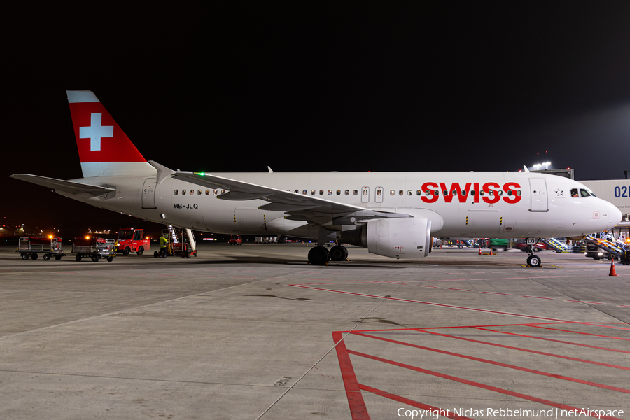 Swiss International Airlines Airbus A320-214 (HB-JLQ) | Photo 360236