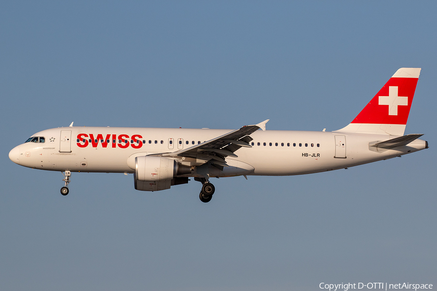 Swiss International Airlines Airbus A320-214 (HB-JLR) | Photo 241735