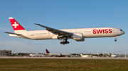 Swiss International Airlines Boeing 777-3DE(ER) (HB-JNA) at  Miami - International, United States