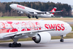 Swiss International Airlines Boeing 777-3DE(ER) (HB-JNA) at  Zurich - Kloten, Switzerland