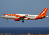 easyJet Switzerland Airbus A320-214 (HB-JZX) at  Gran Canaria, Spain