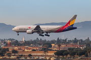 Asiana Airlines Boeing 777-28E(ER) (HL7775) at  Los Angeles - International, United States