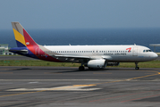 Asiana Airlines Airbus A320-232 (HL7788) at  Jeju International, South Korea