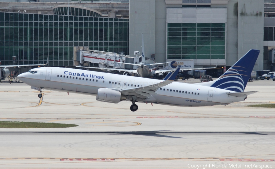 Copa Airlines Boeing 737-8V3 (HP-1534CMP) | Photo 320889