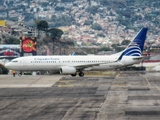 Copa Airlines Boeing 737-8V3 (HP-1722CMP) at  Tegucligalpa - Toncontin International, Honduras