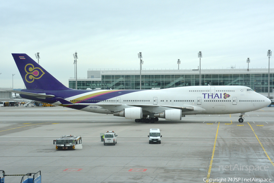 Thai Airways International Boeing 747-4D7 (HS-TGA) | Photo 64929