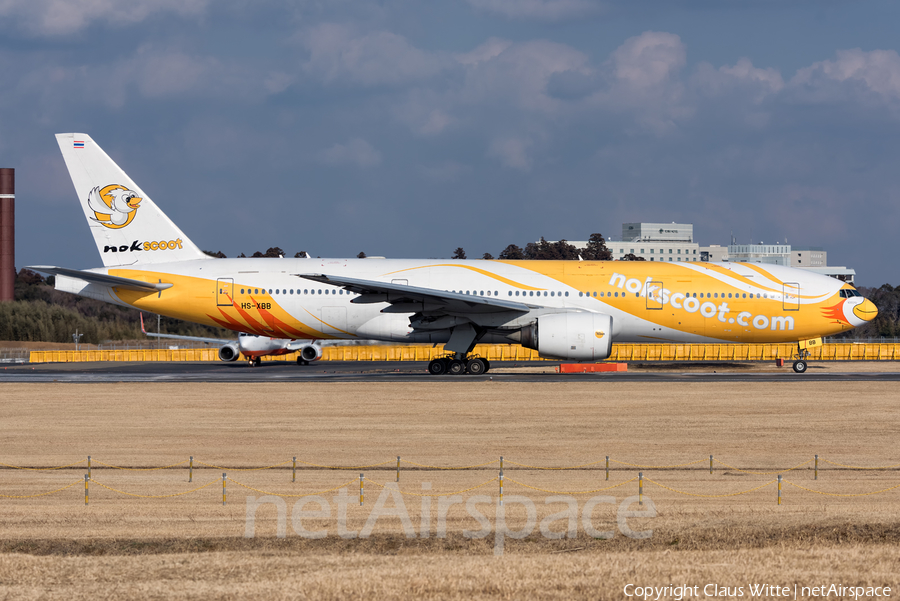NokScoot Boeing 777-212(ER) (HS-XBB) | Photo 322629