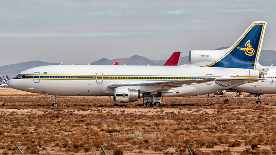Al Anwa Aviation Lockheed L-1011-385-3 TriStar 500 (HZ-AB1) at  Victorville - Southern California Logistics, United States
