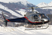 Ariane Helicopter Service Aerospatiale AS350BA Ecureuil (I-ARIC) at  Samedan - St. Moritz, Switzerland