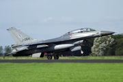 Royal Netherlands Air Force General Dynamics F-16BM Fighting Falcon (J-064) at  Leeuwarden  Air Base, Netherlands