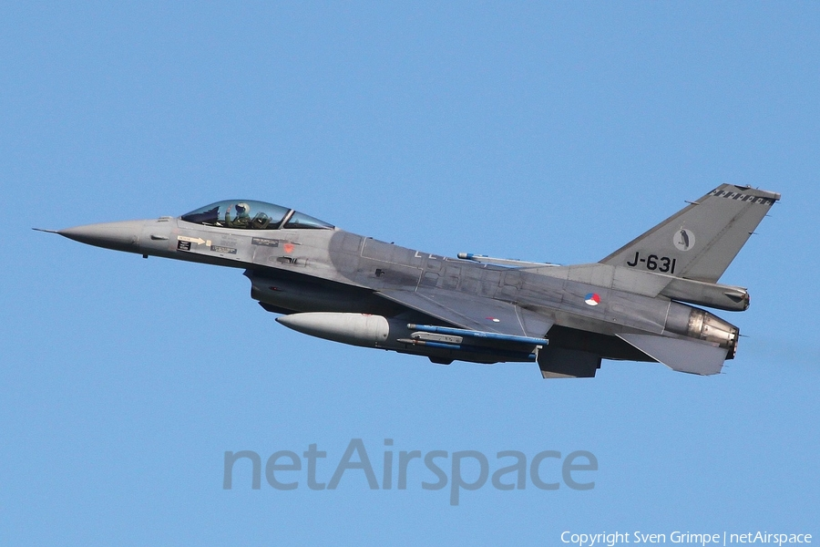 Royal Netherlands Air Force General Dynamics F-16AM Fighting Falcon (J-631) | Photo 241878
