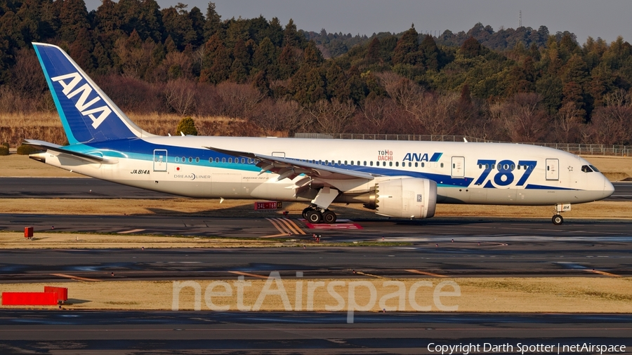 All Nippon Airways - ANA Boeing 787-8 Dreamliner (JA814A) | Photo 205401