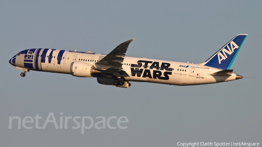 All Nippon Airways - ANA Boeing 787-9 Dreamliner (JA873A) | Photo 162246