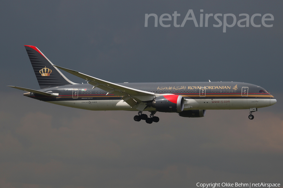 Royal Jordanian Boeing 787-8 Dreamliner (JY-BAC) | Photo 335453