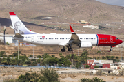 Norwegian Air Shuttle Boeing 737-8JP (LN-NGK) at  Gran Canaria, Spain