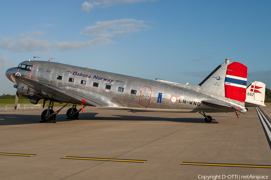 Dakota Norway Douglas DC-3A (LN-WND) | Photo 206012