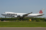 Cargolux Boeing 747-4EV(ERF) (LX-JCV) at  Luxembourg - Findel, Luxembourg