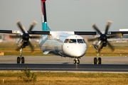 Luxair Bombardier DHC-8-402Q (LX-LGD) at  Frankfurt am Main, Germany