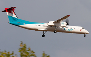 Luxair Bombardier DHC-8-402Q (LX-LGG) at  Madrid - Barajas, Spain