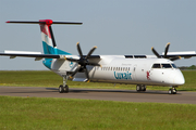 Luxair Bombardier DHC-8-402Q (LX-LGN) at  Luxembourg - Findel, Luxembourg