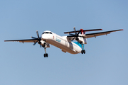 Luxair Bombardier DHC-8-402Q (LX-LGN) at  Luqa - Malta International, Malta