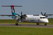 Luxair Bombardier DHC-8-402Q (LX-LQC) at  Luxembourg - Findel, Luxembourg
