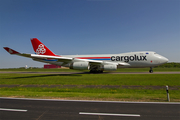Cargolux Boeing 747-4R7F (LX-UCV) at  Luxembourg - Findel, Luxembourg