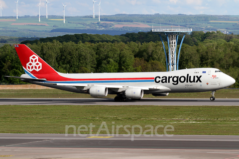 Cargolux Boeing 747-8R7F (LX-VCK) at  Luxembourg - Findel, Luxembourg