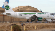 Germania Airbus A319-112 (LZ-AWT) at  Victorville - Southern California Logistics, United States