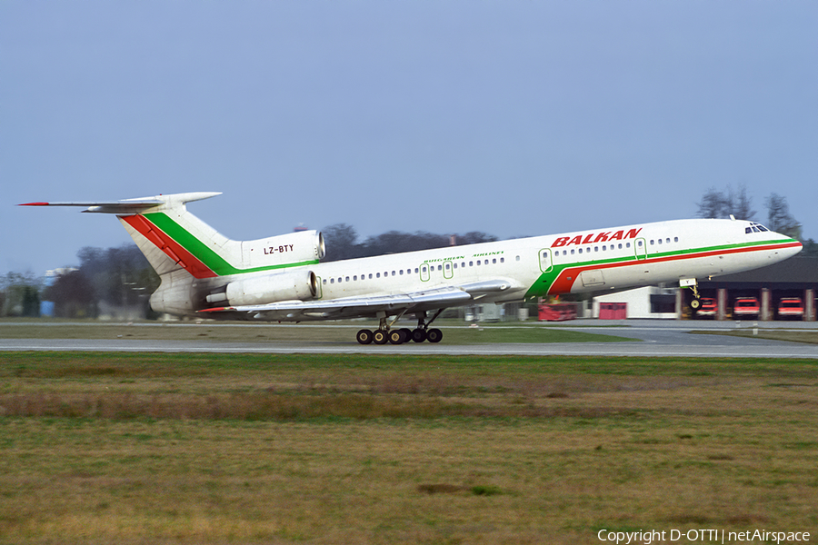 Balkan - Bulgarian Airlines Tupolev Tu-154M (LZ-BTY) | Photo 392767