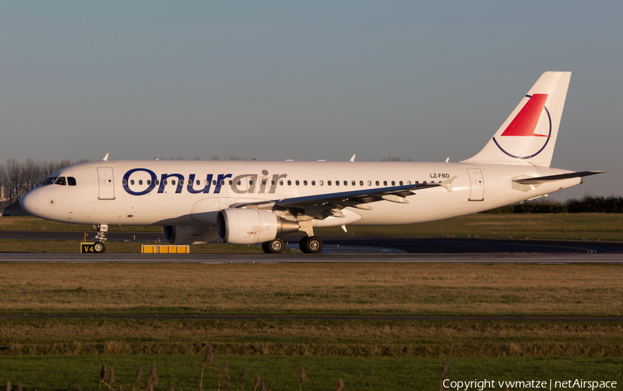 Onur Air Airbus A320-214 (LZ-FBD) | Photo 430000