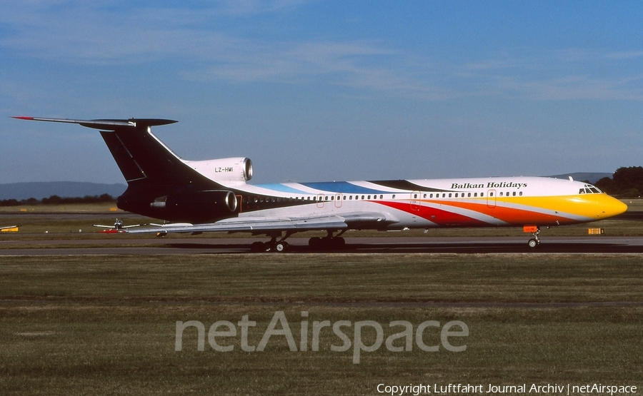BH Air Tupolev Tu-154M (LZ-HMI) | Photo 408941