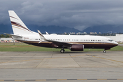 (Private) Boeing 737-7BC(BBJ) (N162WC) at  Vancouver - International, Canada