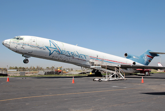 Amerijet International Boeing 727-227F(Adv) (N196AJ) at  Chino, United States