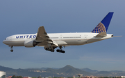 United Airlines Boeing 777-222 (N215UA) at  Barcelona - El Prat, Spain