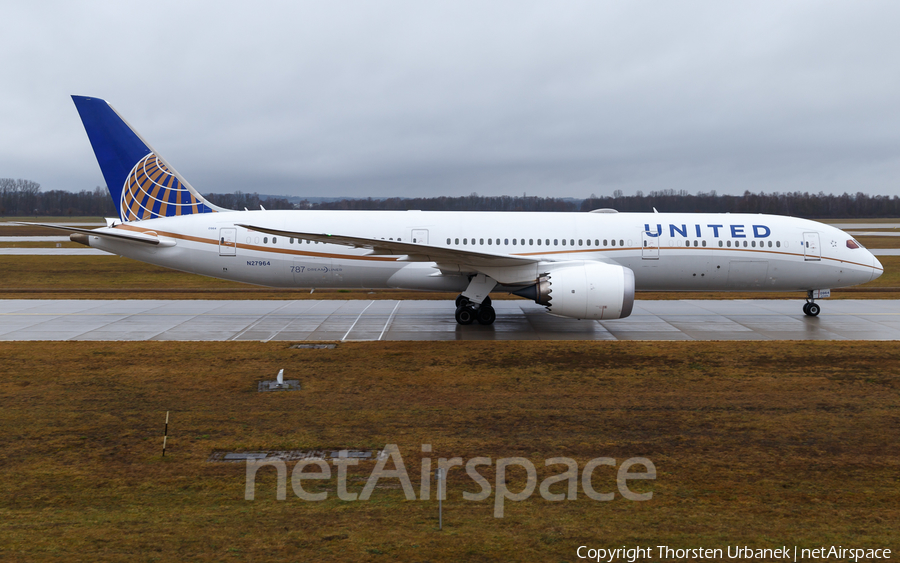 United Airlines Boeing 787-9 Dreamliner (N27964) | Photo 367629