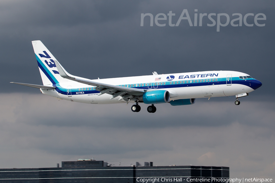 Eastern Air Lines Boeing 737-86J (N279EA) | Photo 131531