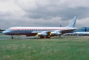 United Air Leasing Douglas DC-8-55(F) (N29954) at  London - Stansted, United Kingdom