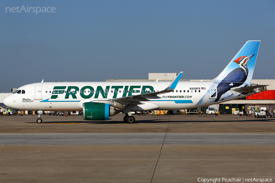Frontier Airlines Airbus A320-251N (N309FR) | Photo 191579