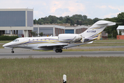 (Private) Cessna 750 Citation X (N373AB) at  Hamburg - Fuhlsbuettel (Helmut Schmidt), Germany