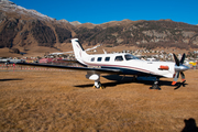 (Private) Piper PA-46-350P Malibu Mirage - JetPROP DLX (N3975C) at  Samedan - St. Moritz, Switzerland