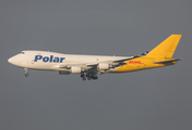 Polar Air Cargo Boeing 747-46NF(SCD) (N452PA) at  Leipzig/Halle - Schkeuditz, Germany