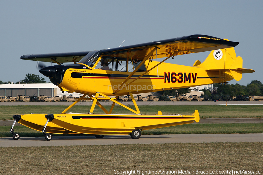 (Private) Aviat A-1C-180 Husky (N63MV) | Photo 156419